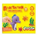 Пластилин Каляка-Маляка для детского творчества 10 цв. 150,00 г стек от ЭКСМО
