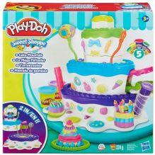 Play-Doh - Play-Doh Игровой набор Праздничный торт (A7401) обложка книги