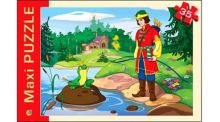 - МАКСИ-ПАЗЛЫ. 35 элементов ЦАРЕВНА ЛЯГУШКА (Арт ПМ-7137) обложка книги