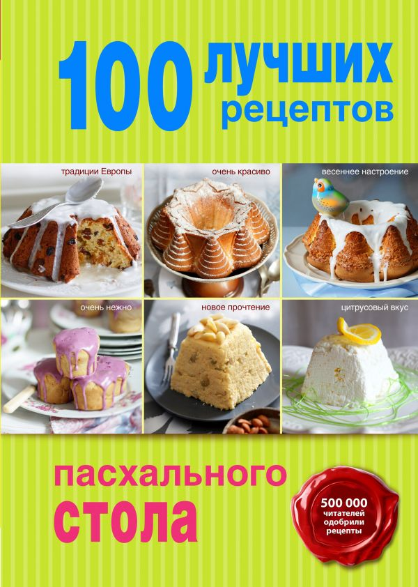 100 лучших рецептов пасхального стола