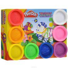 Play-Doh Пластилин: Набор из 8 банок пластилина(A7923)