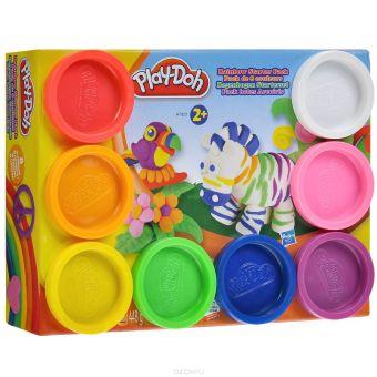 Play-Doh Пластилин: Набор из 8 банок пластилина(A7923) PLAY-DOH