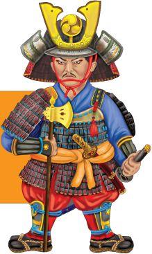 Снежинкина Д. - Бесстрашный самурай обложка книги
