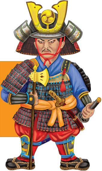 Бесстрашный самурай Снежинкина Д.
