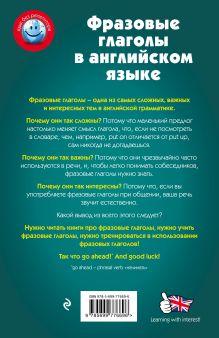 Обложка сзади Фразовые глаголы в английском языке В.В. Ильченко
