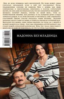 Обложка сзади Мадонна без младенца Анна и Сергей Литвиновы