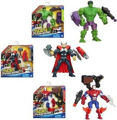 Hero Mashers Разборные фигурки с оружием (в ассорт.) (A6833) Super Hero Mashers
