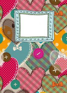 - Блокнот для записей Сердечки счастья А6 обложка книги