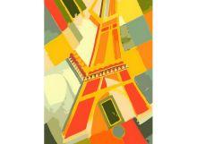 - Живопись на холсте. Размер 30*40 см.. Взгляд на Эйфелеву башню (707-AS ) обложка книги