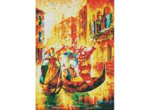 Мозаичные картины. Венецианская гондола (158-ST )