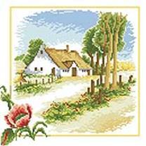 Мозаичные картины. Жаркий июль (106-ST )