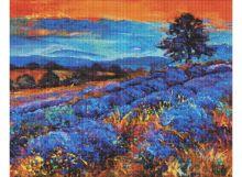 Мозаичные картины. Лавандовые поля (162-ST )