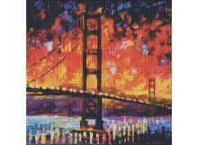Мозаичные картины. Мост Золотые ворота (176-ST )