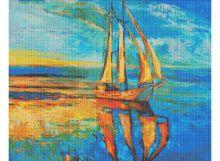 Мозаичные картины. Под парусами (163-ST )