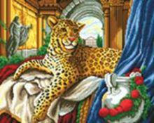 Мозаичные картины. Римский леопард (097-ST )