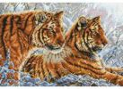 Наборы для вышивания. Амурские тигры (2333-14 )