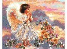- Наборы для вышивания. Ангел с цветами (4004-14 ) обложка книги