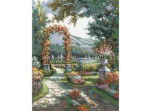 - Наборы для вышивания. Арка в саду (4156-14 ) обложка книги