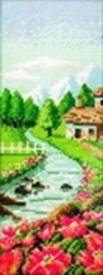 - Наборы для вышивания. Быстрая река (1053-14 ) обложка книги