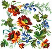 - Наборы для вышивания. Вальс цветов (6034-14 ) обложка книги
