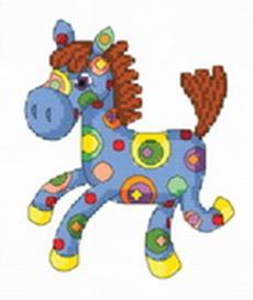 Наборы для вышивания. Веселая лошадка (780-14 )