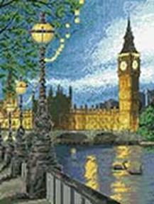 - Наборы для вышивания. Вечерний Лондон (4054-14 ) обложка книги