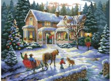 - Наборы для вышивания. Встреча рождества (4145-14 ) обложка книги