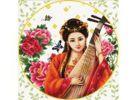 Наборы для вышивания. Девушка с лютней (3187-14 )