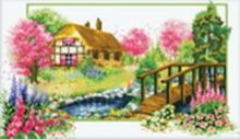 - Наборы для вышивания. Деревенский мостик (2910-14 ) обложка книги