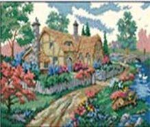 - Наборы для вышивания. Дом у дороги (4180-14 ) обложка книги