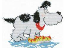 - Наборы для вышивания. Домашний пес (400-14 ) обложка книги