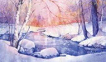 Наборы для вышивания. Зимний пейзаж (1007-14 )