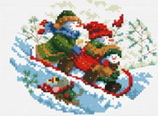 Наборы для вышивания. Зимняя забава (663-14 )