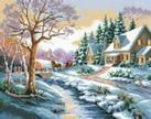 Наборы для вышивания. Зимняя улица (1013-14 )