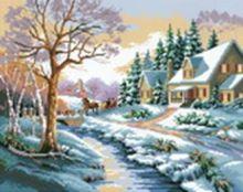 - Наборы для вышивания. Зимняя улица (1013-14 ) обложка книги