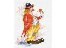 - Наборы для вышивания. Клоун с цветком (452-14 ) обложка книги