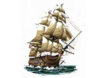 - Наборы для вышивания. Корабль Виктория (1001-14 ) обложка книги