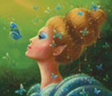 - Наборы для вышивания. Королева эльфов (5550-14 ) обложка книги