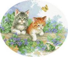 - Наборы для вышивания. Котята (1172-14 ) обложка книги