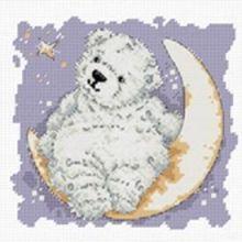 - Наборы для вышивания. Лунный мишка (770-14 ) обложка книги
