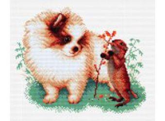 Наборы для вышивания. Маленькие друзья (1853-14 )