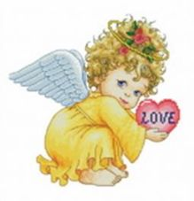 - Наборы для вышивания. Маленький ангел (570-14 ) обложка книги