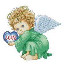 - Наборы для вышивания. Милый ангел (571-14 ) обложка книги
