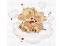 - Наборы для вышивания. Мишки на облаке (772-14 ) обложка книги