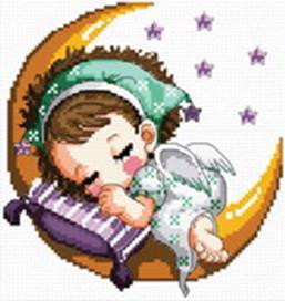 Наборы для вышивания. Нежный сон (350-14 )