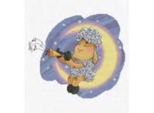 - Наборы для вышивания. Овечка на Луне (152-14 ) обложка книги