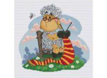 - Наборы для вышивания. Овечка рукодельница (150-14 ) обложка книги