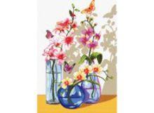 Наборы для вышивания. Орхидеи и бабочки (6055-14 )