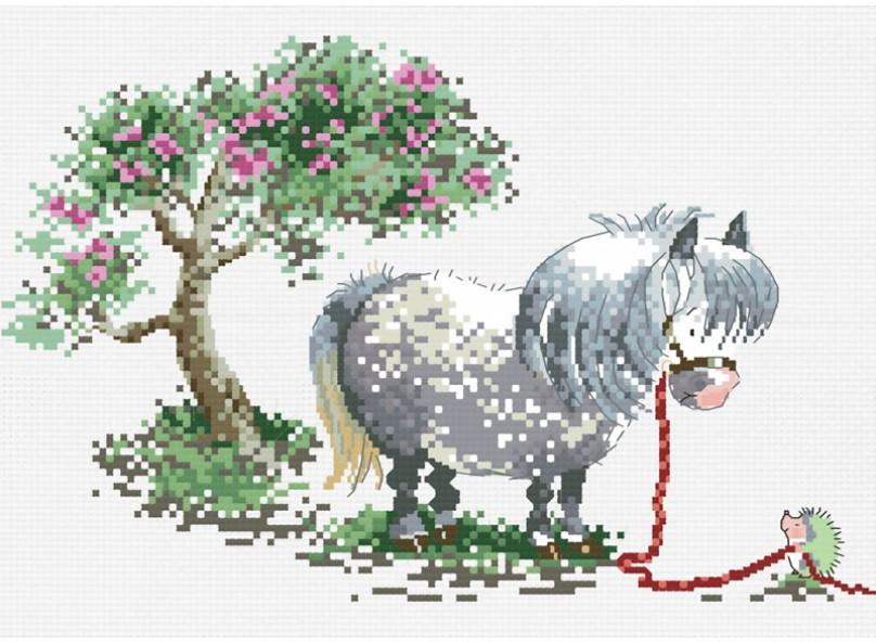 Наборы для вышивания. Пони и ёж (822-14 )