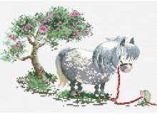 - Наборы для вышивания. Пони и ёж (822-14 ) обложка книги
